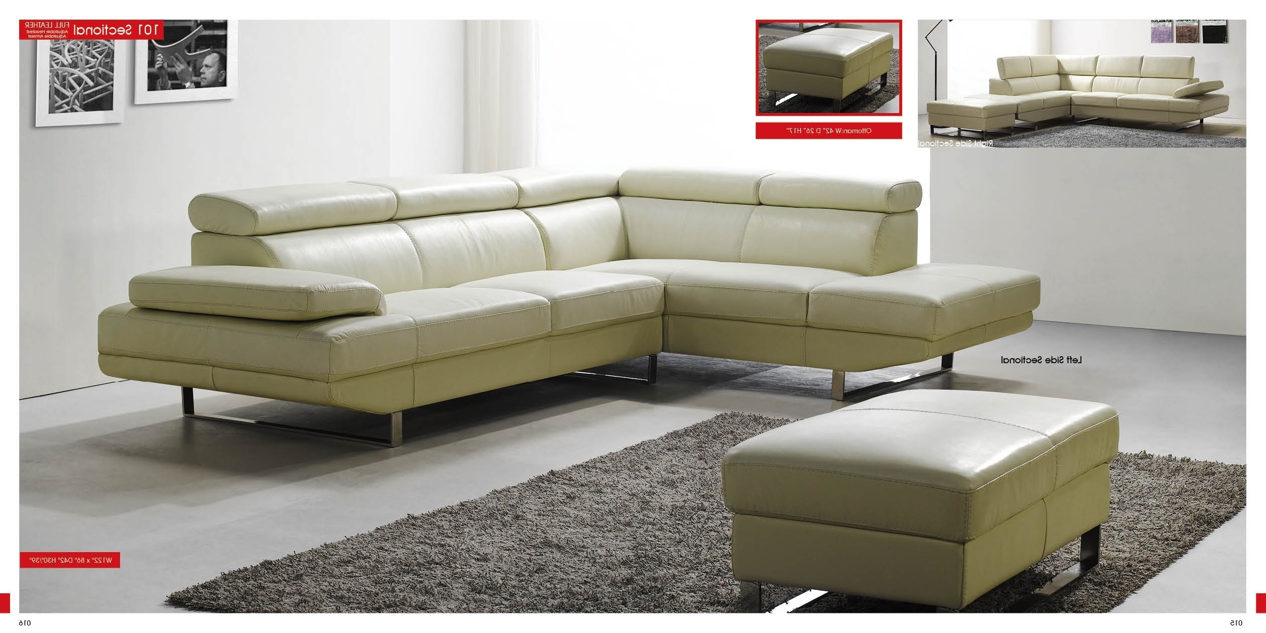 Well Known Sleek Sectional Sofas With Regard To Collection Sleek Sectional Sofa – Mediasupload (View 18 of 20)