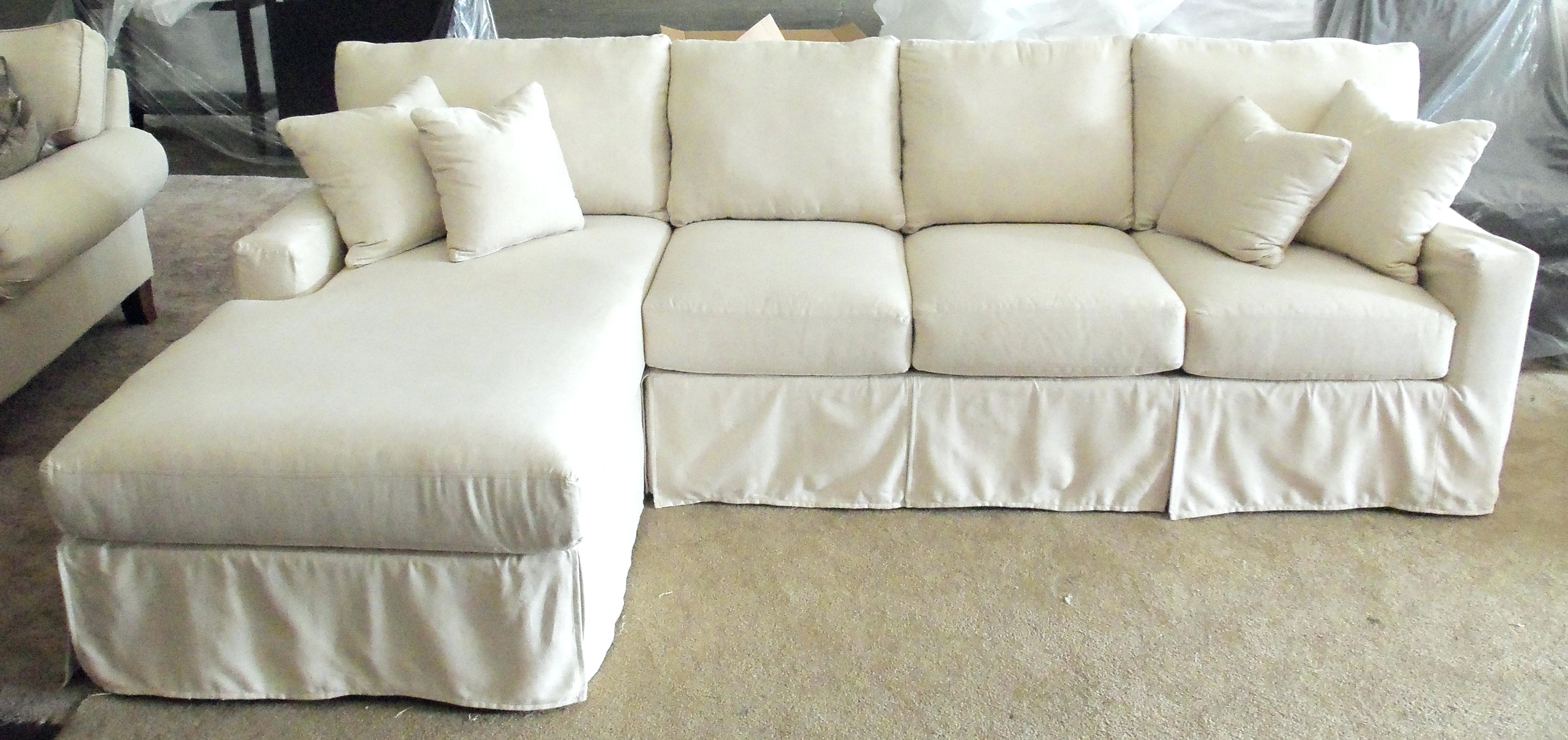 Well Known Slipcover For Sectional F Slipcovers Sofas Walmart Sleeper Sofa In Slipcovers Sofas (View 20 of 20)