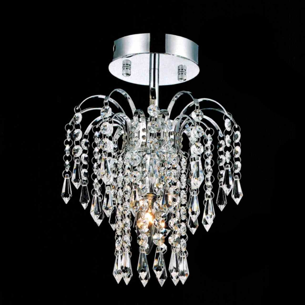 Well Known Small Chrome Chandelier Intended For Brizzo Lighting Stores (View 8 of 20)