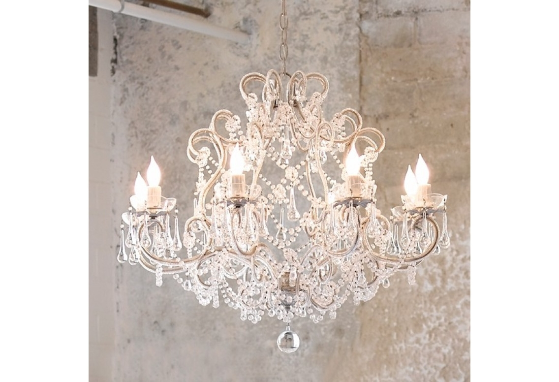 Well Known Small Shabby Chic Chandelier Regarding Chandeliers Design : Fabulous Vintage Small Shabby Chic Chandeliers (View 9 of 20)