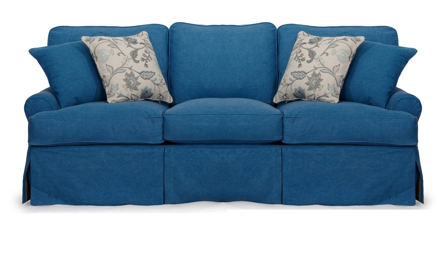 Well Known Sofa: Best Ashley Furniture Blue Sofa Couch Furniture, Ashley Sofa Inside Blue Sofa Chairs (View 20 of 20)