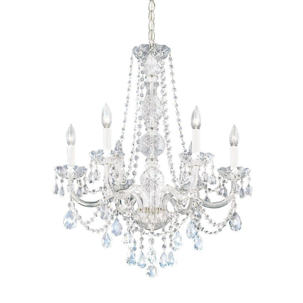 Well Known Sparkly Chandeliers Regarding Lighting : Pink Crystal Chandelier Light Colonial Chandelier Best (View 4 of 20)