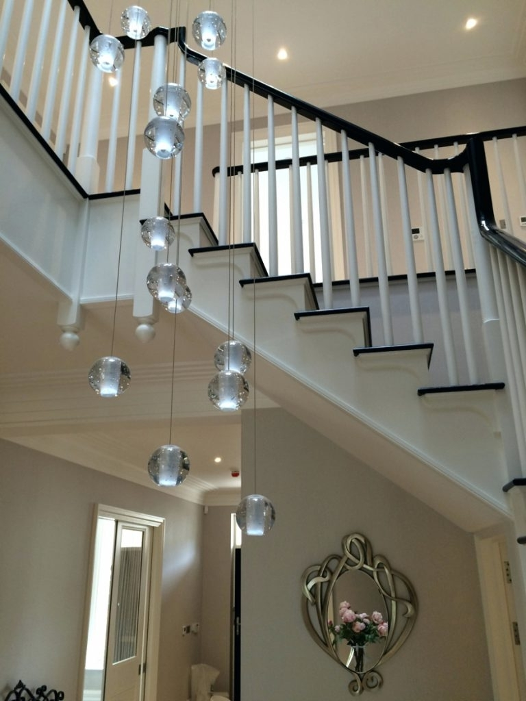 Well Known Stairway Chandeliers In Chandelier ~ Chandeliers ~ Extra Long Chandelier Lighting Long (View 18 of 20)