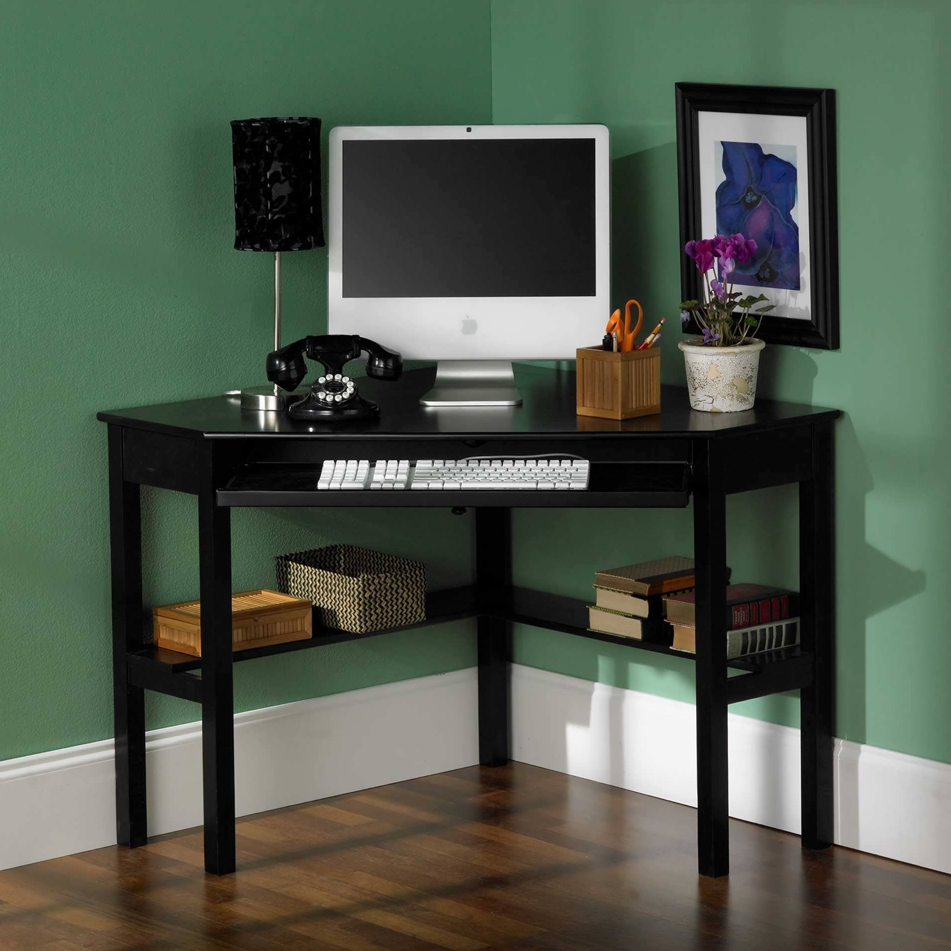 Well Known Tall Computer Desks In Office Desk : White Office Desk Black Corner Desk Tall Computer (View 20 of 20)