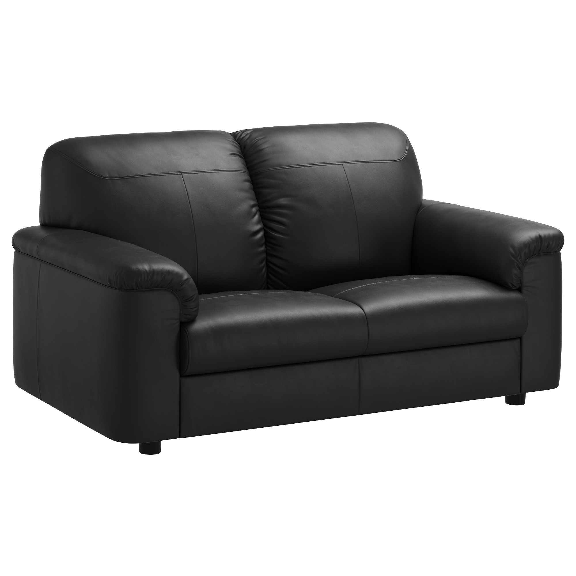 Well Known Timsfors Two Seat Sofa Mjuk/kimstad Black – Ikea Inside Ikea Two Seater Sofas (View 19 of 20)