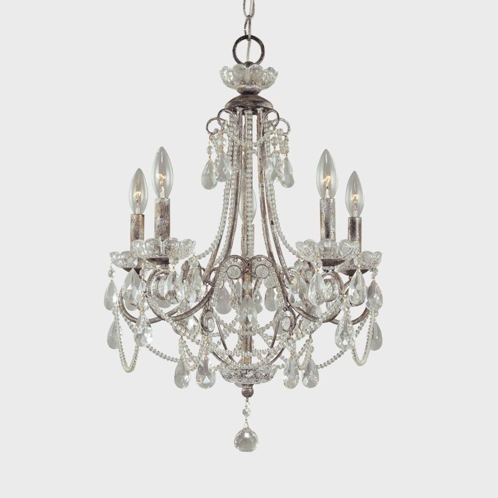 Well Known Tiny Chandeliers With Chandeliers : Crystal Chandelier With No Lightsut Faux Triangle Tiny (View 18 of 20)