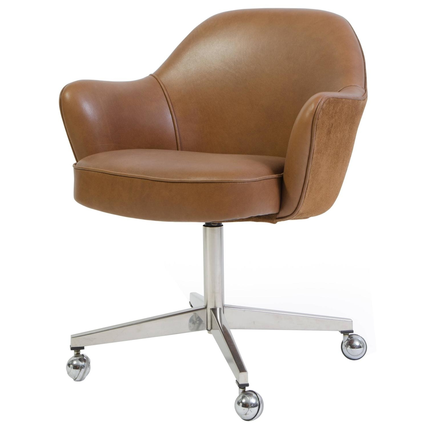 Well Known Verona Cream Executive Leather Office Chairs Regarding Chair : High Back Executive Leather Office Chair Verona Brown (View 2 of 20)