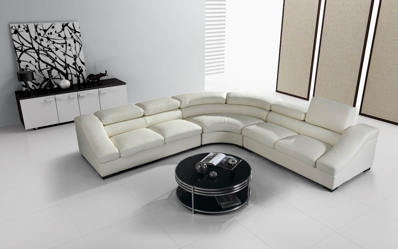 Well Known White Leather Corner Sofas Intended For Incredible Modern Leather Corner Sofas – Buildsimplehome (View 12 of 20)