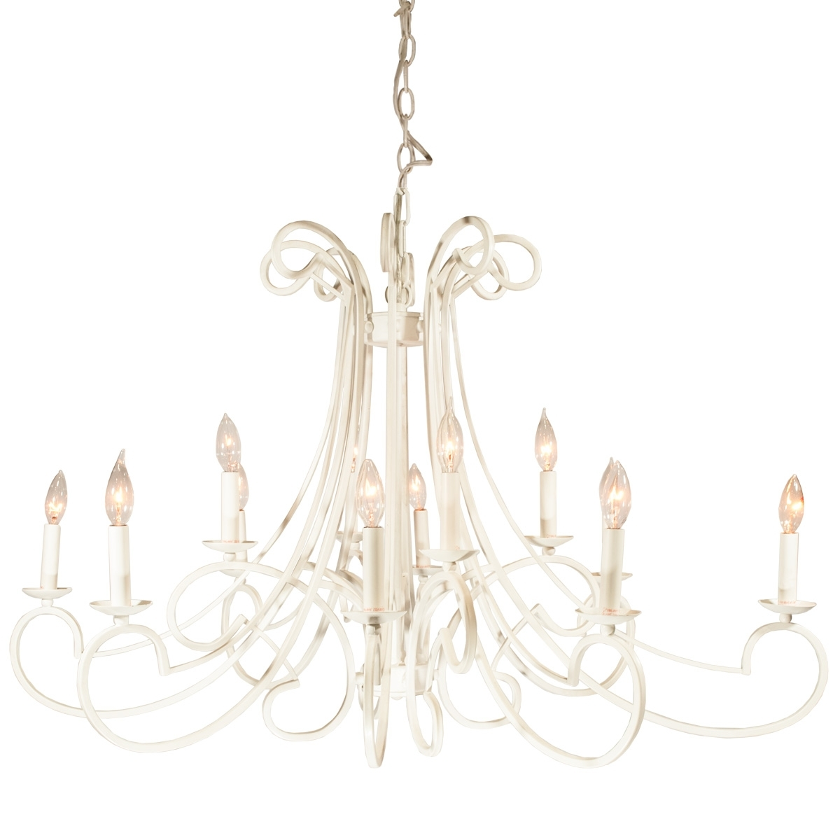 Well Known White Metal Chandelier – Celebrations! Party Rentals With White Chandelier (View 15 of 20)