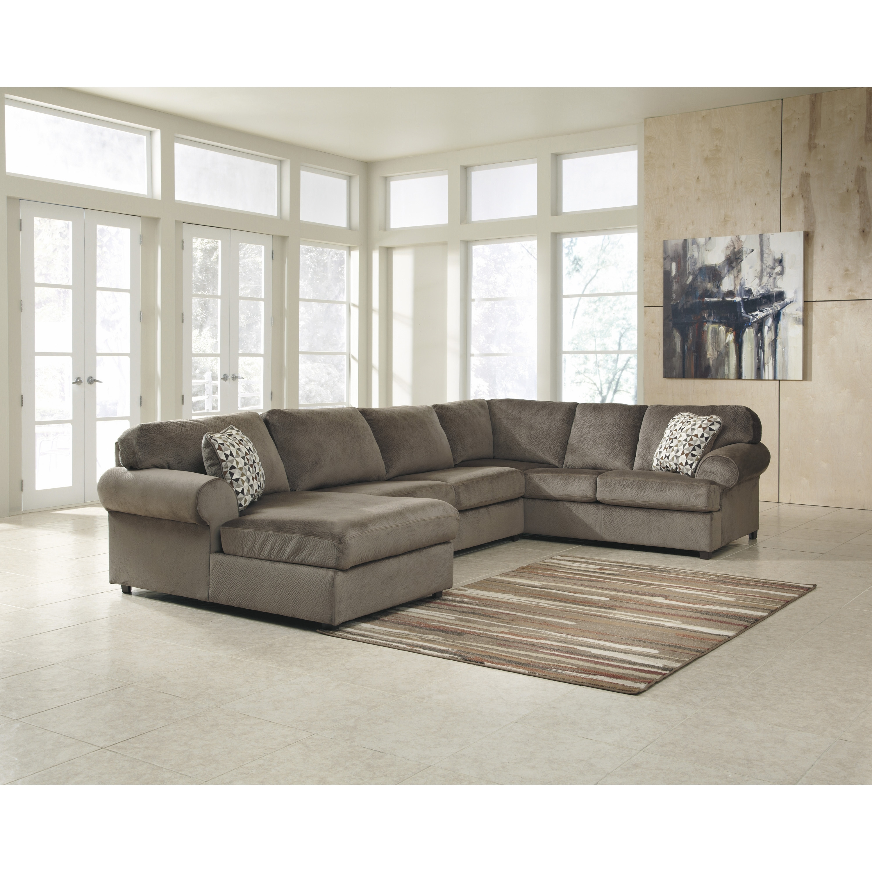 Well Liked Awesome Dark Brown Wood Cool Design Furniture Comfortable Living Inside Wayfair Sectional Sofas (View 18 of 20)