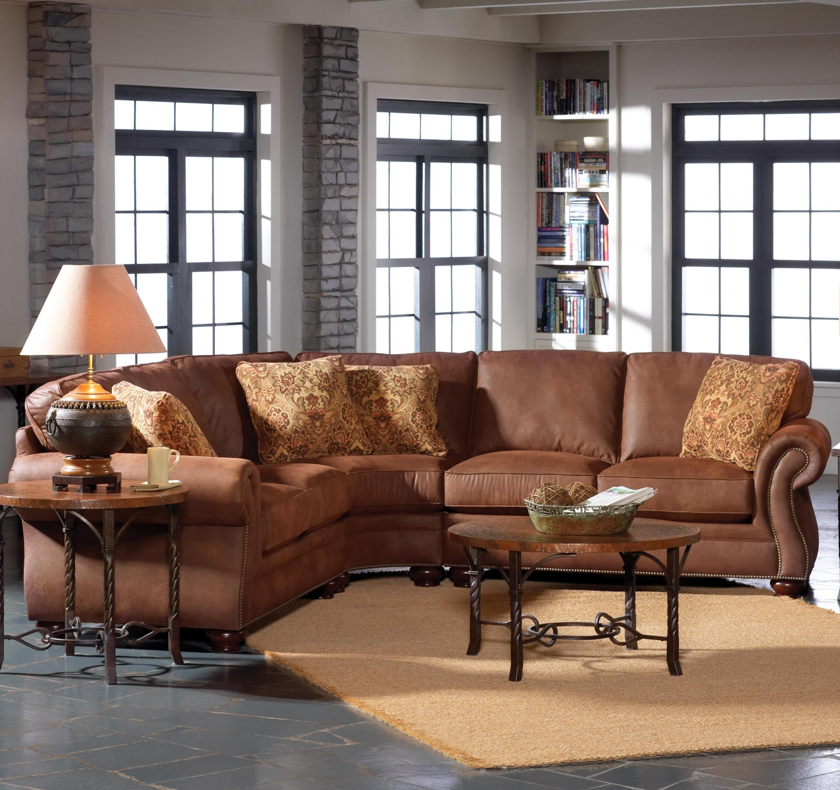 Well Liked Broyhill Furniture Laramie 3 Piece Sectional Sofa (View 19 of 20)