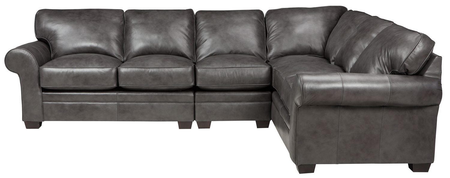 Well Liked Broyhill Sectional Sofas Intended For Zachary 3 Piece Sectional, Broyhill – Frontroom Furnishings (View 20 of 20)