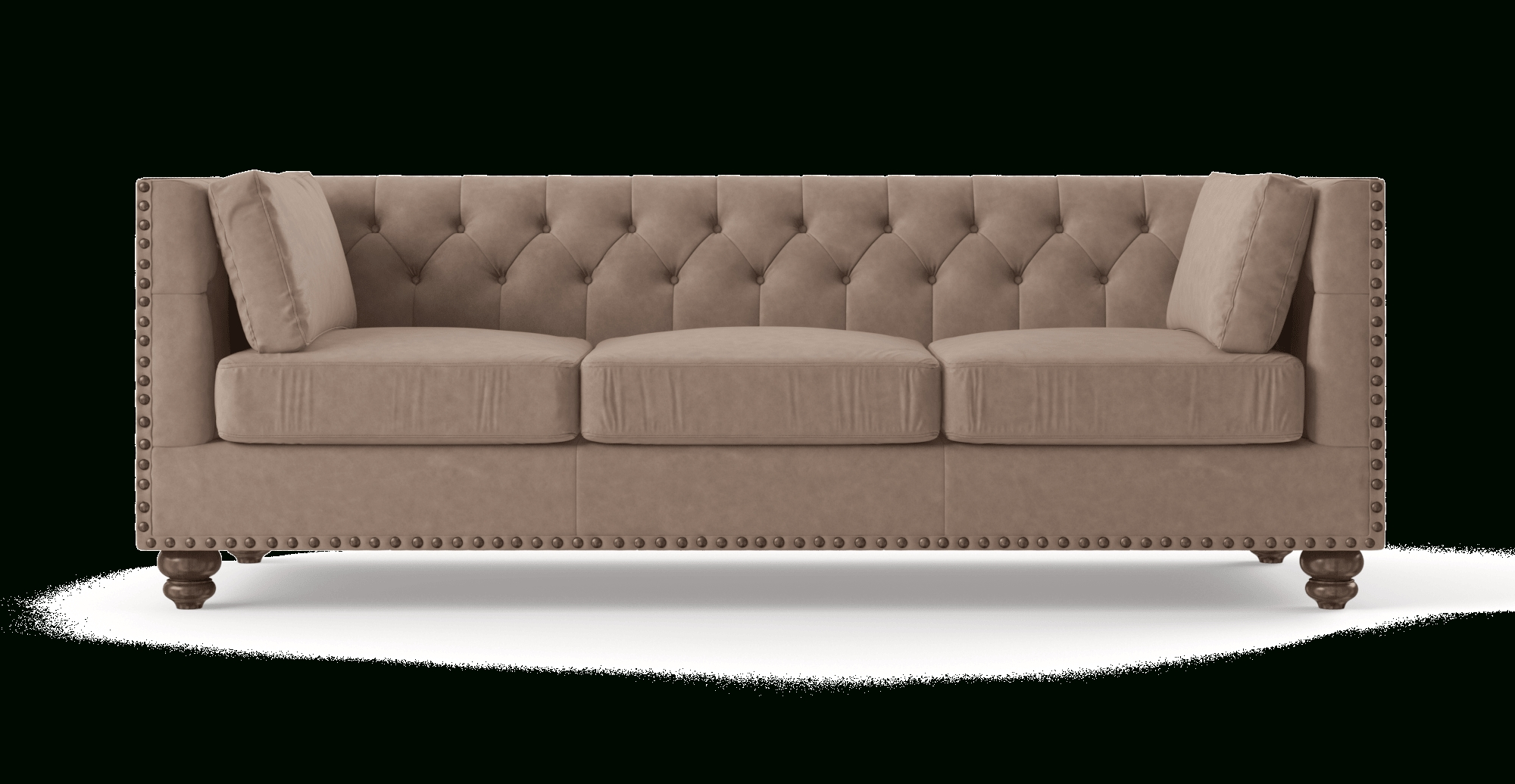 Well Liked Buy Florence Leather 3 Seater Sofa Online In Australia (View 17 of 20)