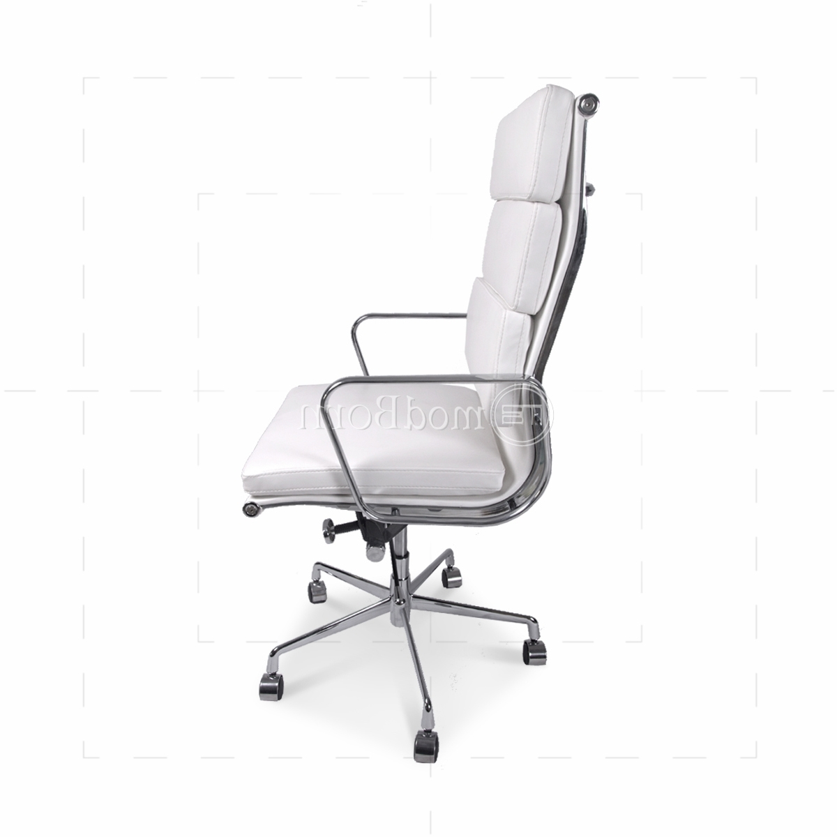 Well Liked Chair : High Back White Leather Executive Reclining Office Chair With Regard To Oversized Executive Office Chairs (View 10 of 20)