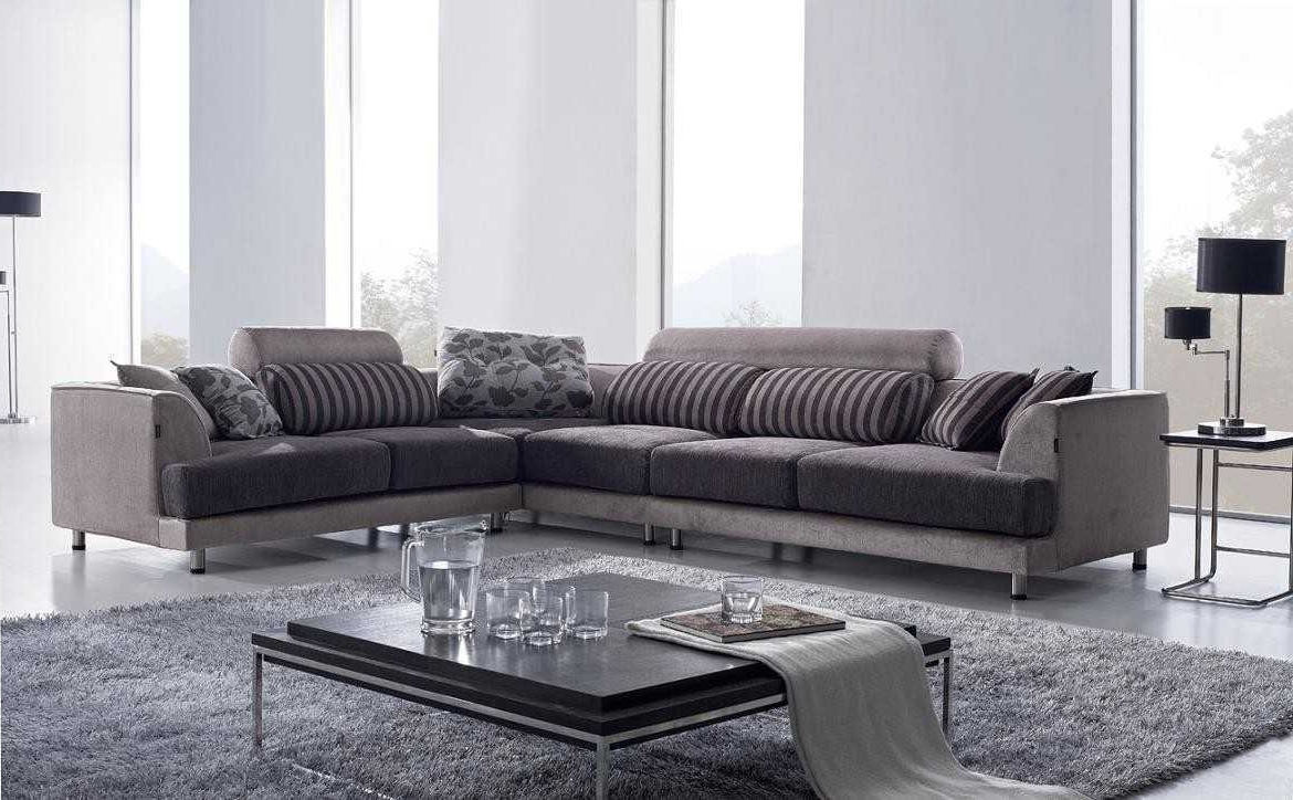 Well Liked Contemporary Fabric Sofas Inside Contemporary Fabric Sectionals – Rpisite (View 19 of 20)