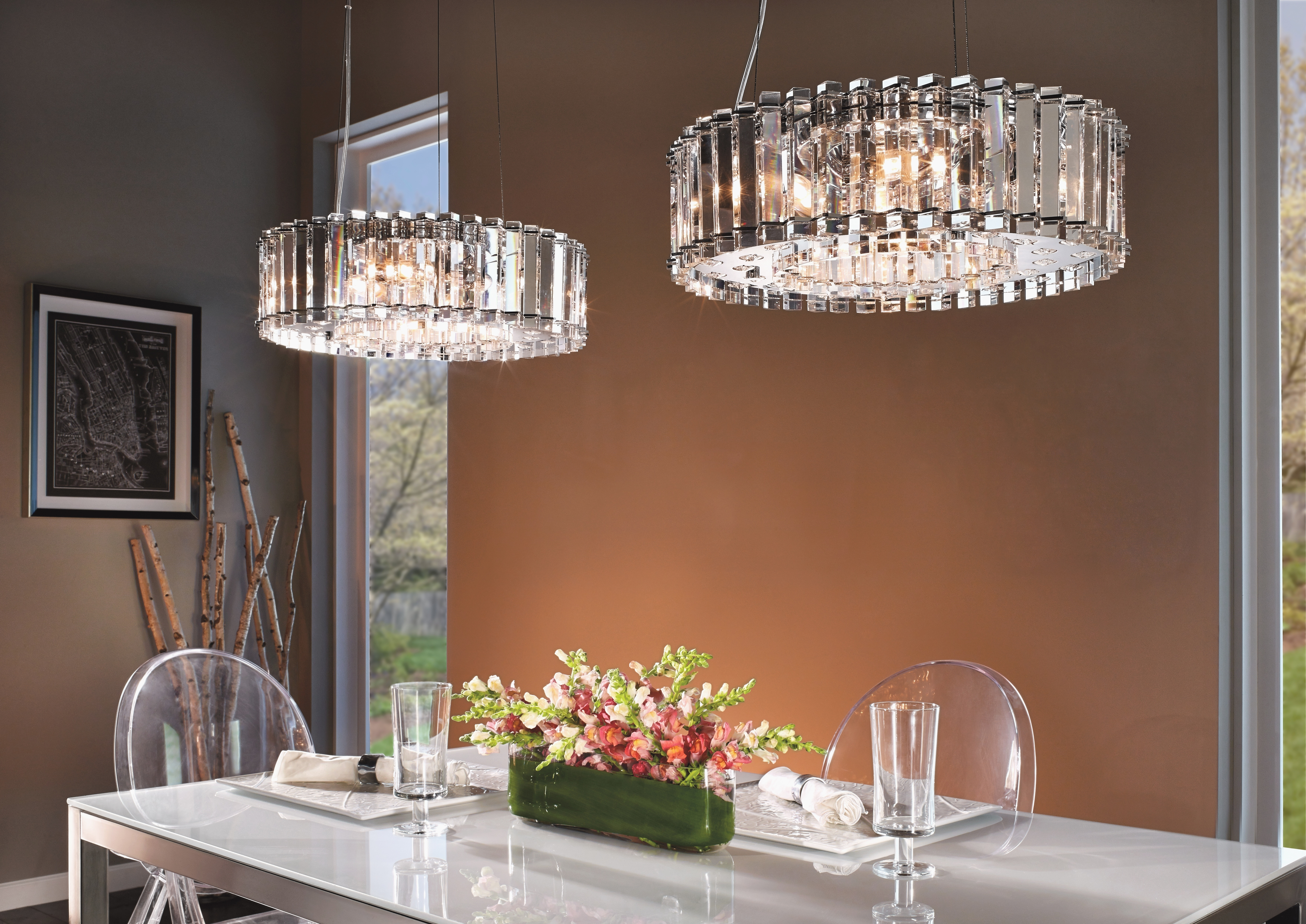 Well Liked Crystal Dining Room Chandeliers Trendy Dining Room Crystal Inside Trendy Chandeliers (View 3 of 20)
