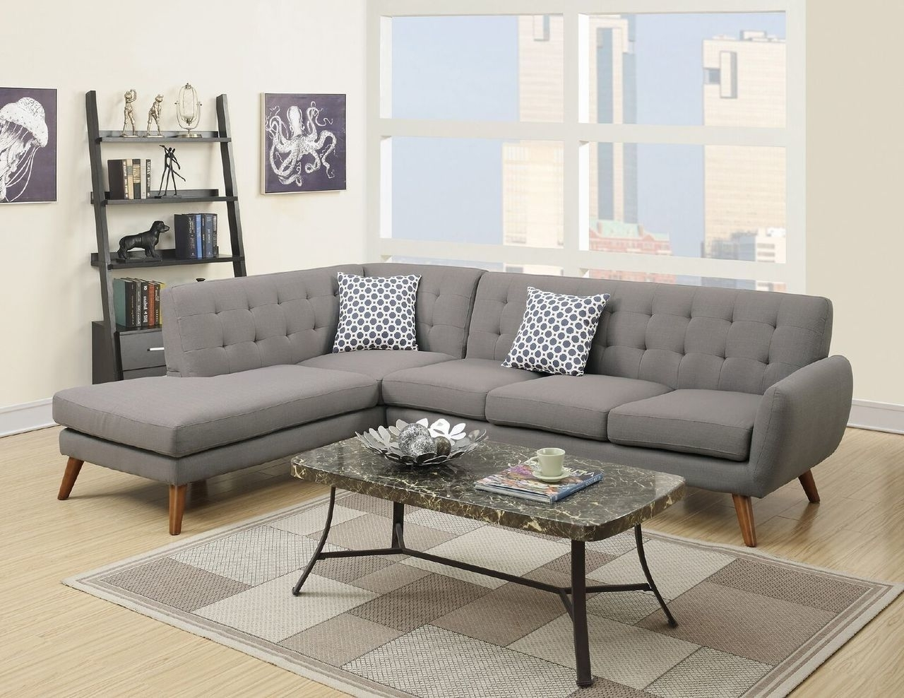 Well Liked Eau Claire Wi Sectional Sofas Throughout Mid Century Modern Sectional Sofa (View 19 of 20)