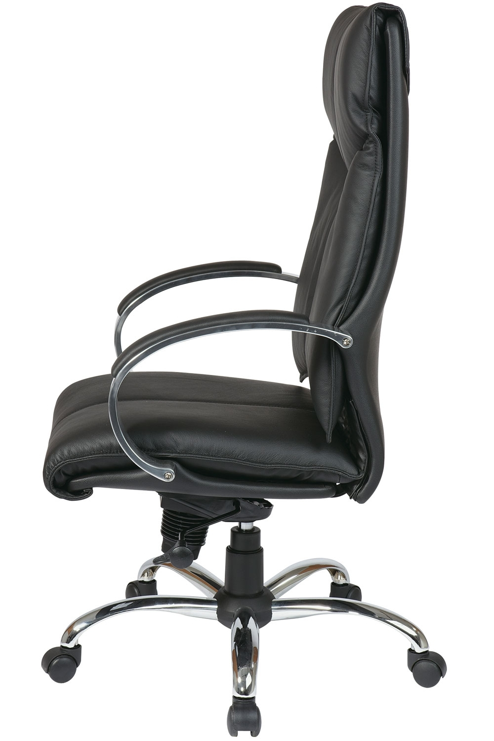 Well Liked Executive Office Side Chairs With Regard To 8200 Office Star Deluxe – High Back Executive Leather Office Chair (View 20 of 20)