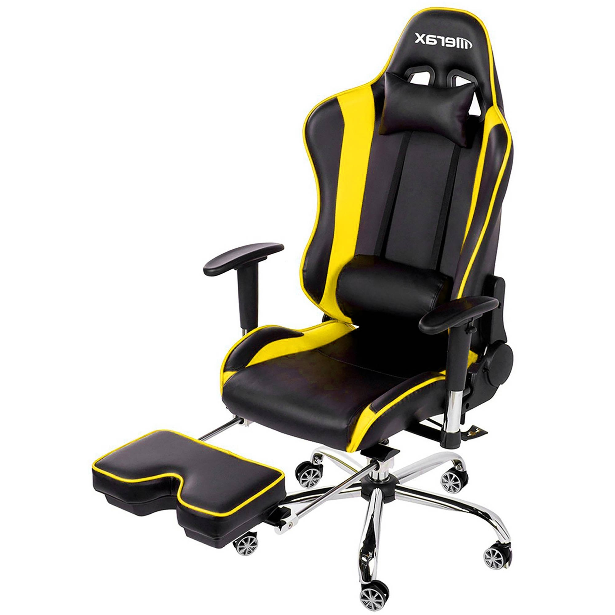 Well Liked Executive Reclining Office Chairs With Merax High Back Erogonomic Racing Style Computer Gaming Office (View 20 of 20)