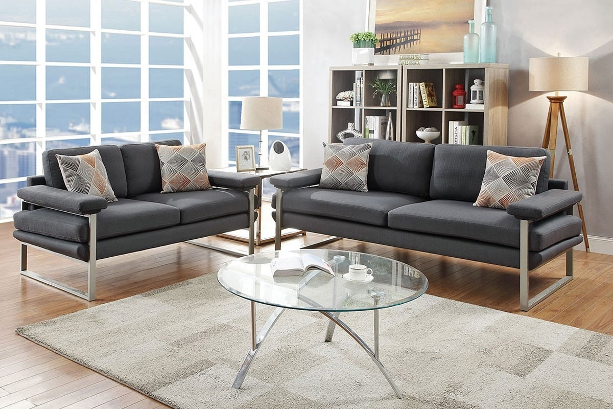 Well Liked Fabric Sofas Intended For Fabric Sofas – Melrose Discount Furniture Store (View 20 of 20)