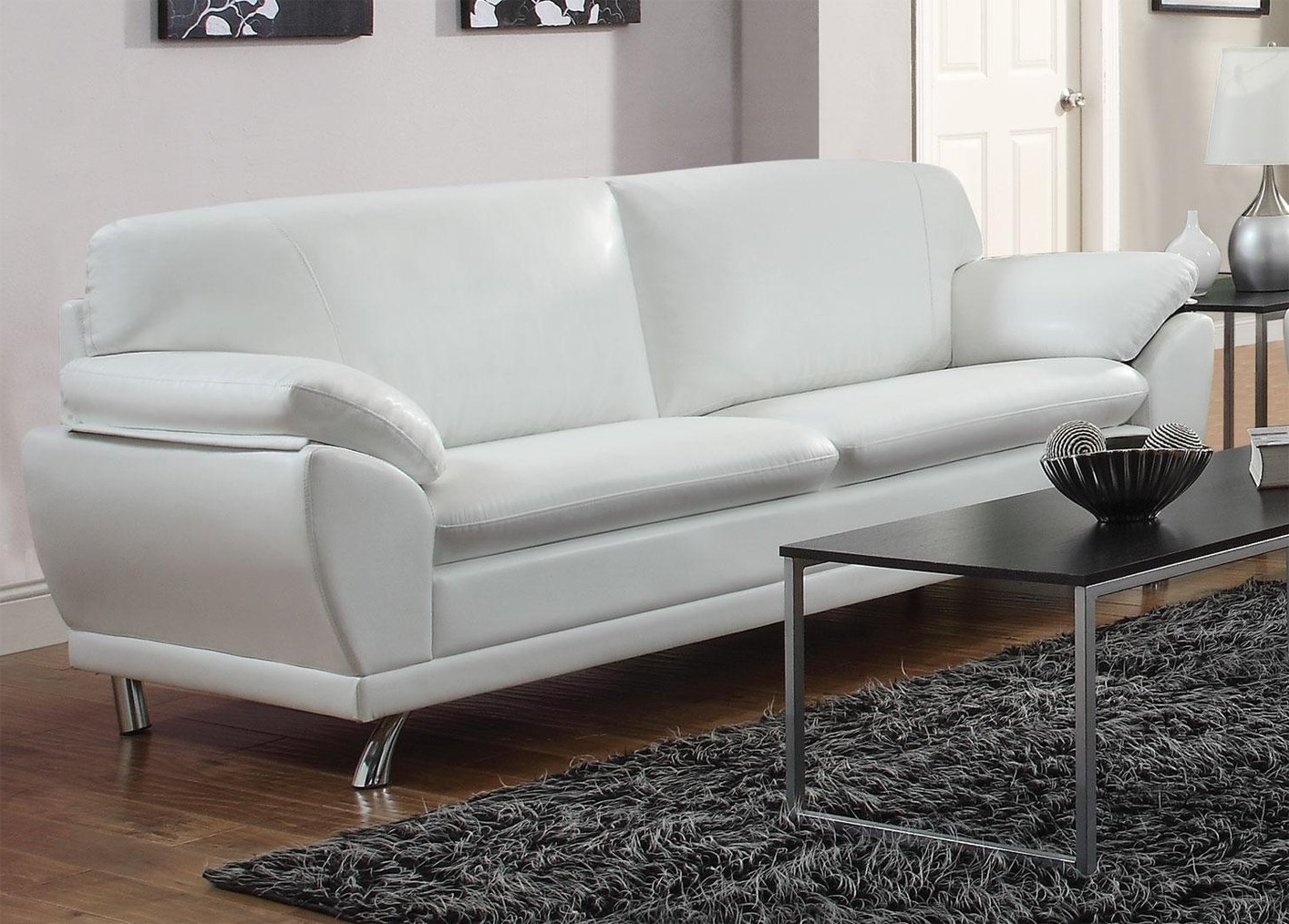Well Liked How To Keep Your White Leather Sofa Clean – Pickndecor Within White Leather Sofas (View 2 of 20)