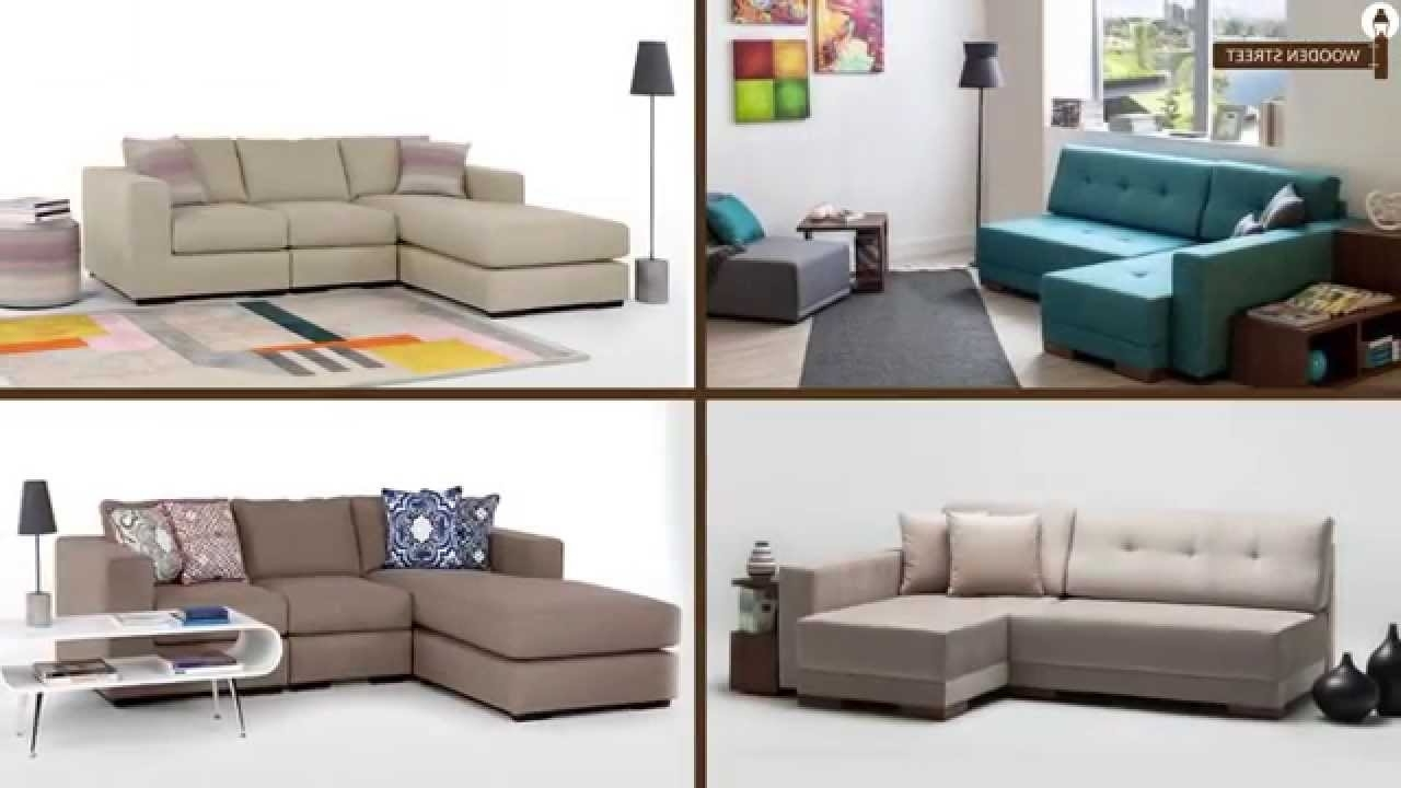 Well Liked L Shaped Sofa Online – Corner Sofas Online From Wooden Street For L Shaped Sofas (View 19 of 20)