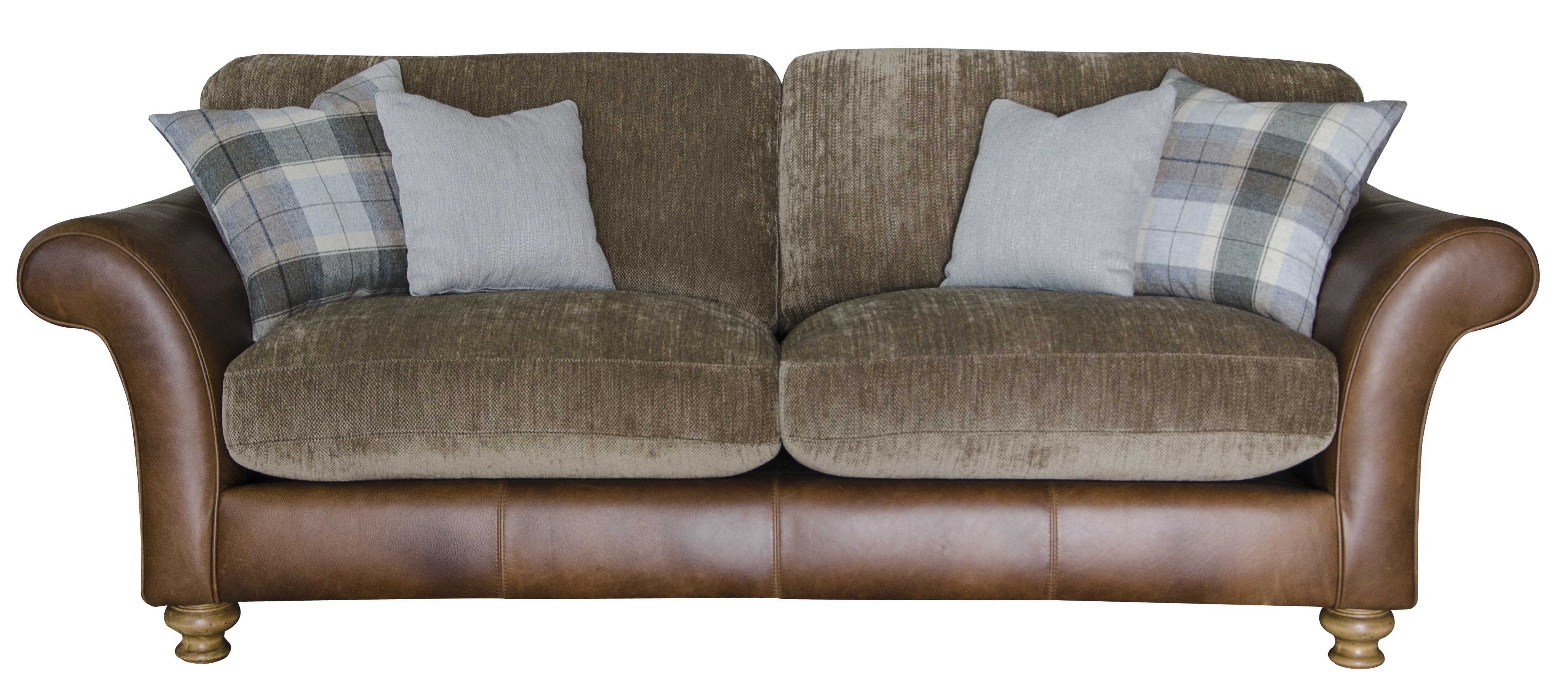 Well Liked Leather And Fabric Combination Sofas • Leather Sofa Pertaining To Leather And Cloth Sofas (View 3 of 20)