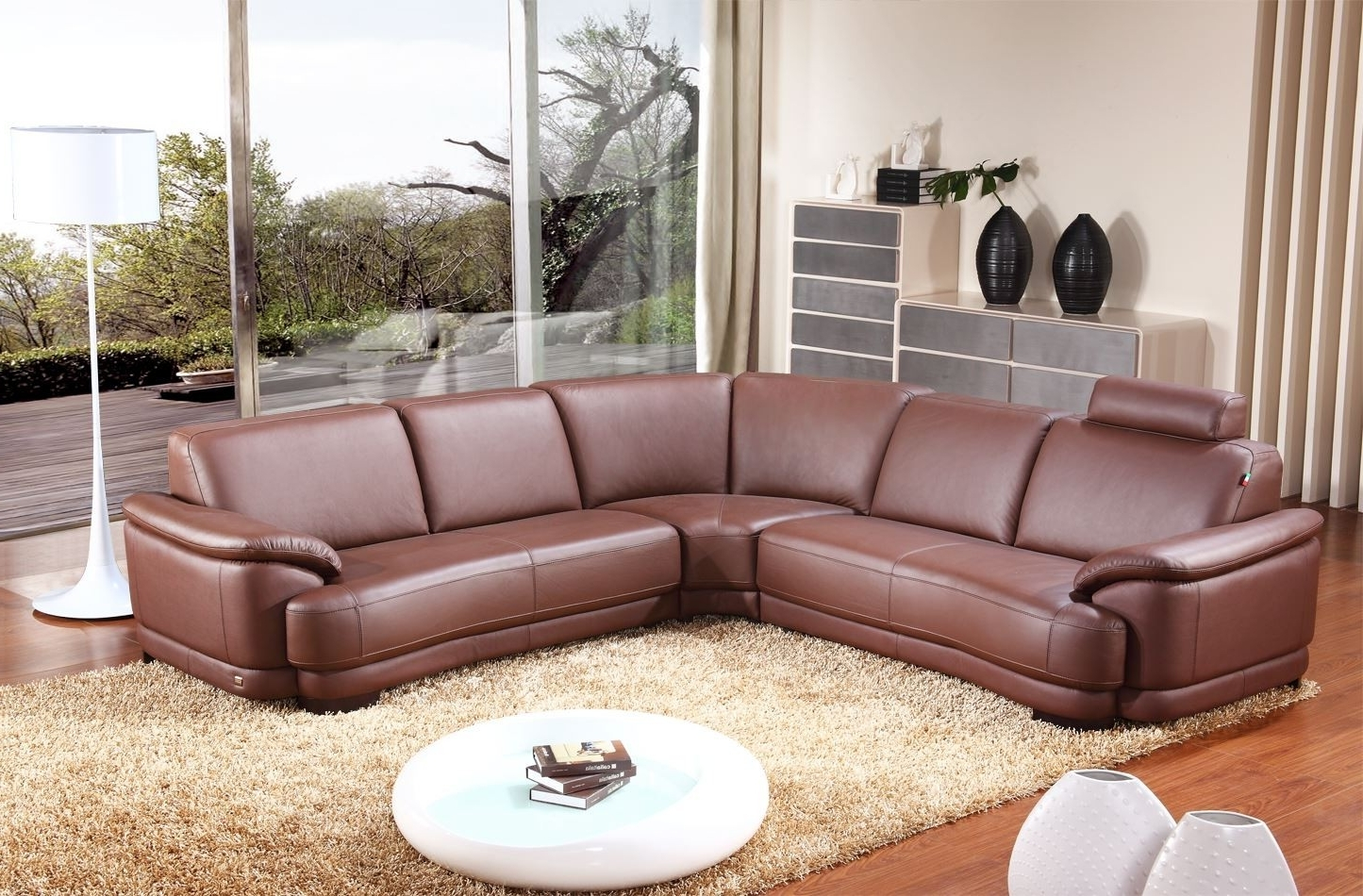 Well Liked Leather Corner Sofas Pertaining To Corner Sofas In Leather 27 With Corner Sofas In Leather (View 16 of 20)