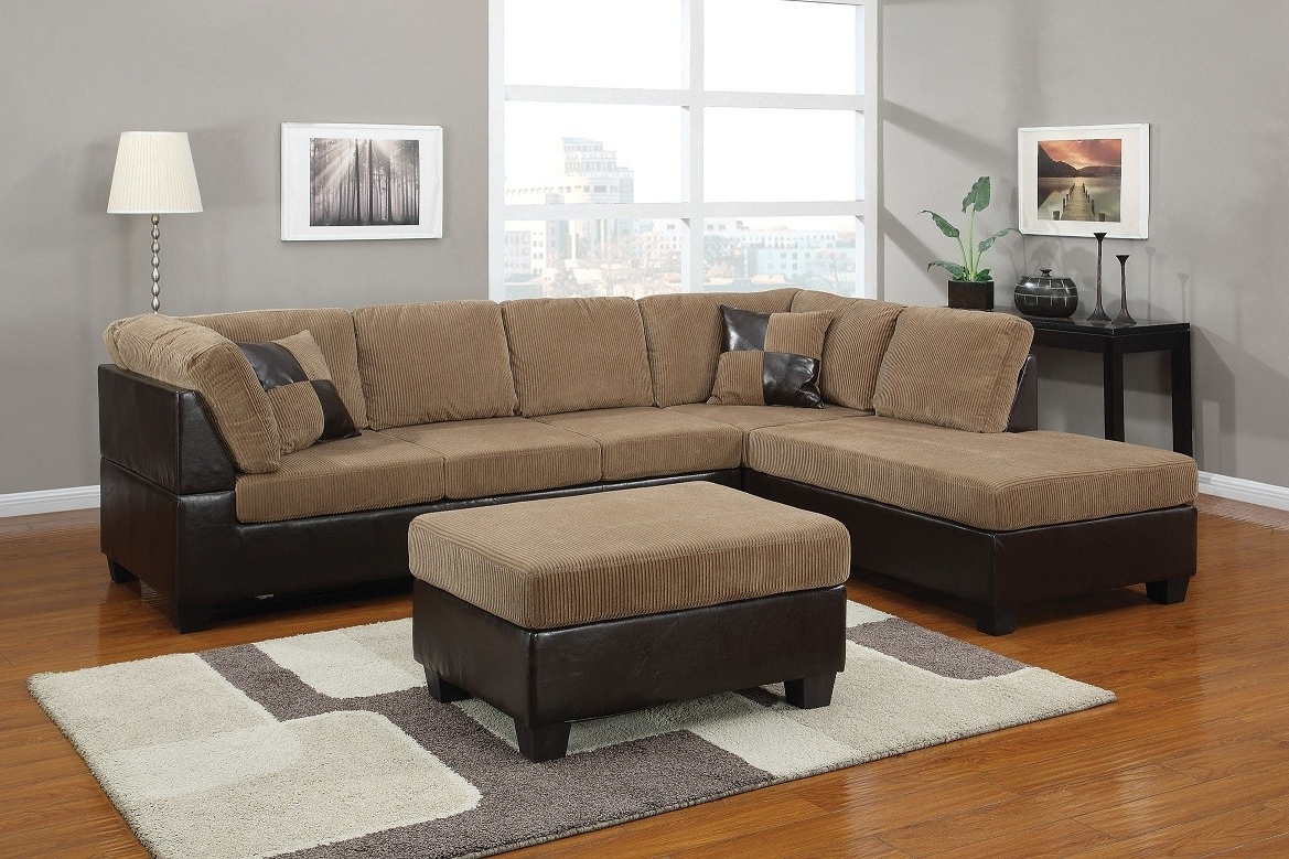 Well Liked Light Brown Corduroy Sectional Sofa Lowest Price – Sofa, Sectional Pertaining To Sectional Sofas At Brampton (View 4 of 20)