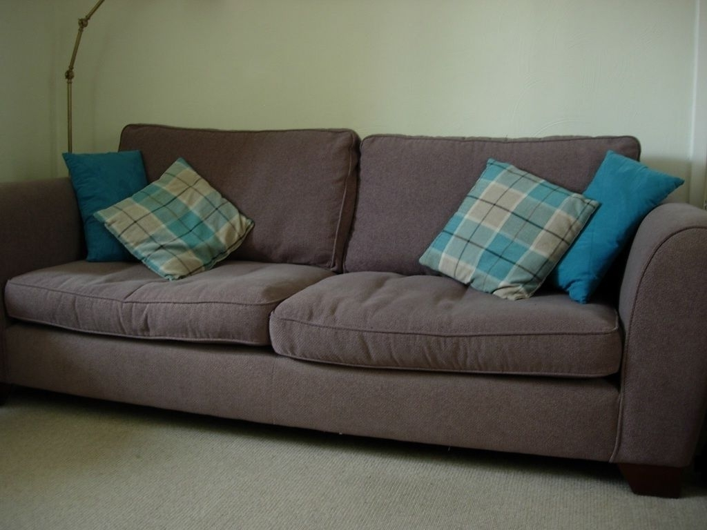 Well Liked Marks And Spencer Sofas And Chairs Intended For Marks And Spencer Large Sofa 3 Seater Urbino Taupe Brown Waffle (View 2 of 20)