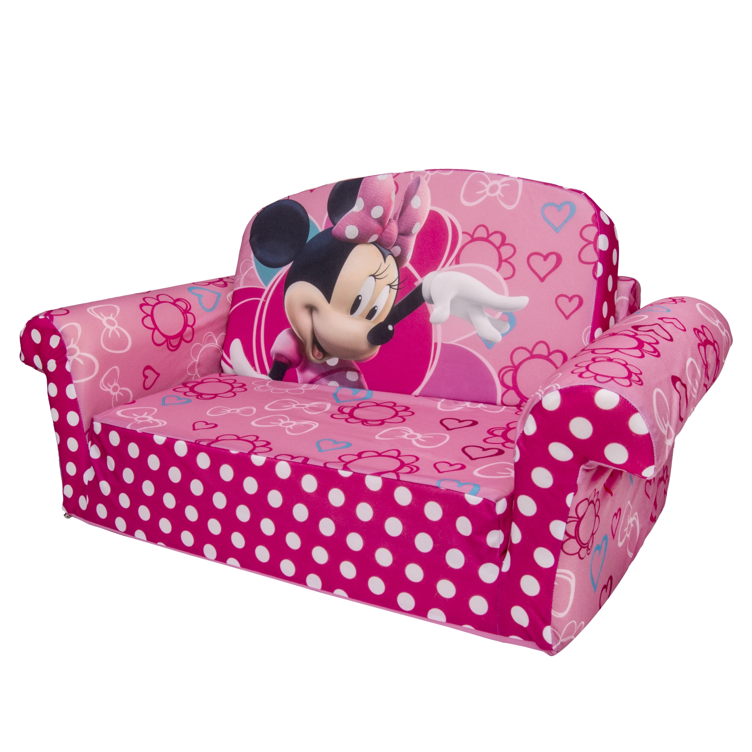 Well Liked Marshmallow Furniture, Children's 2 In 1 Flip Open Foam Sofa Within Disney Sofa Chairs (View 9 of 20)