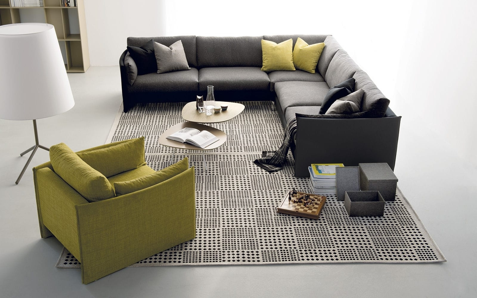 Well Liked Modular Sofa / Corner / Contemporary / Fabric – Urbanbernhardt Inside Contemporary Fabric Sofas (View 4 of 20)