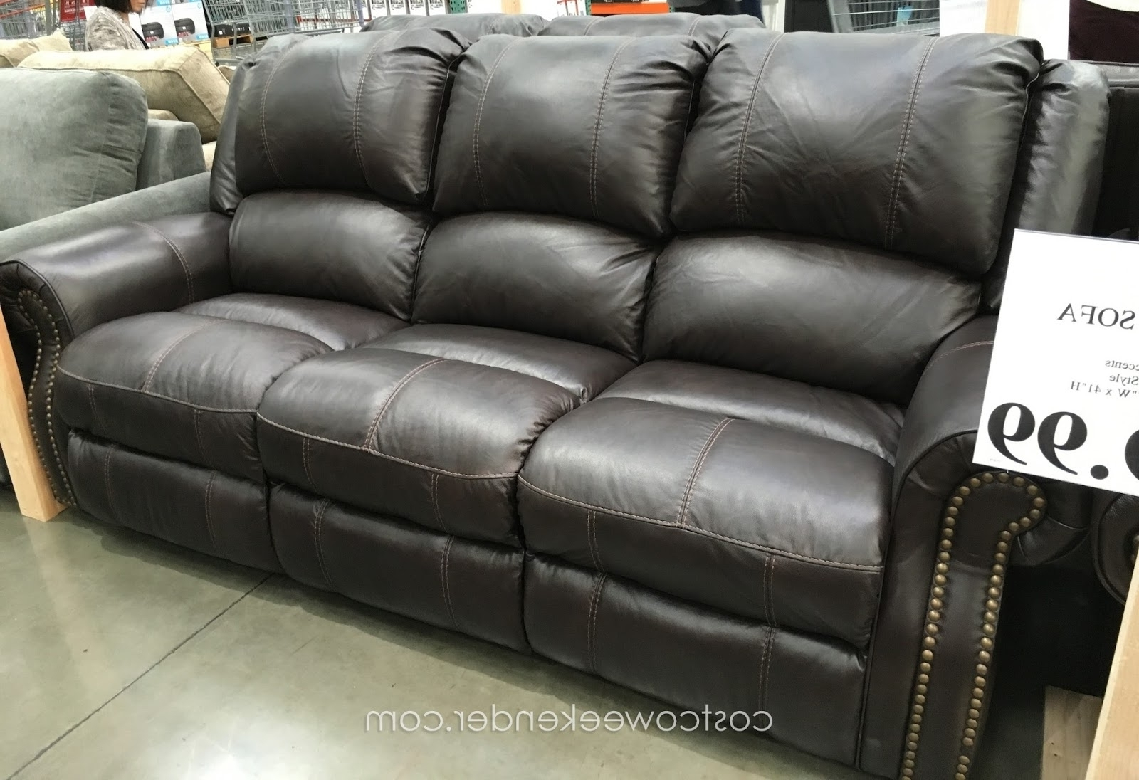 Well Liked Sams Club Sectional Sofas With Regard To Leather Motion Sofa Sams Club • Leather Sofa (View 16 of 20)