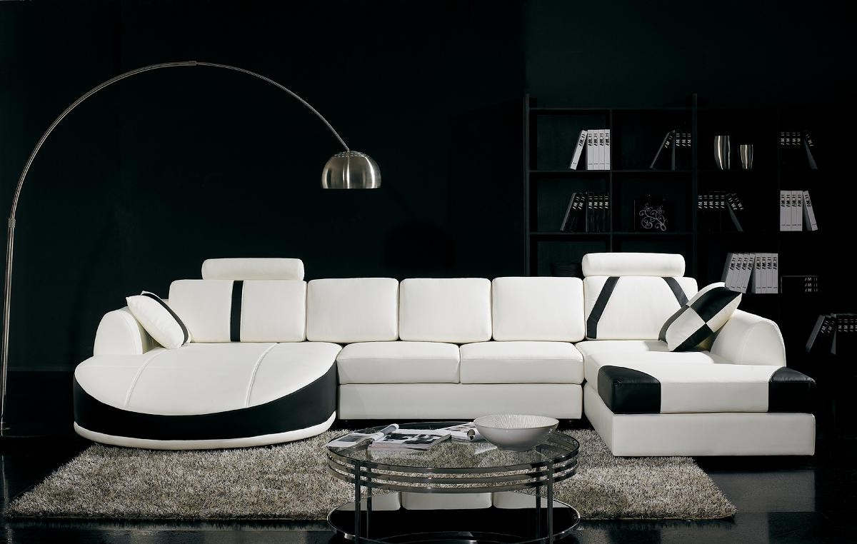 Well Liked T57B Ultra Modern Sectional Sofa Throughout Modern Sectional Sofas (View 15 of 20)