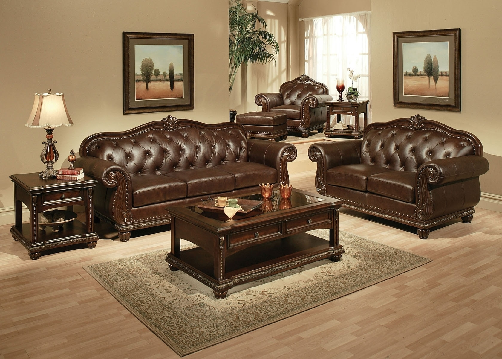 Well Liked Traditional Sofas And Chairs In Furniture: Awesome Traditional Living Room Furniture Traditional (View 19 of 20)