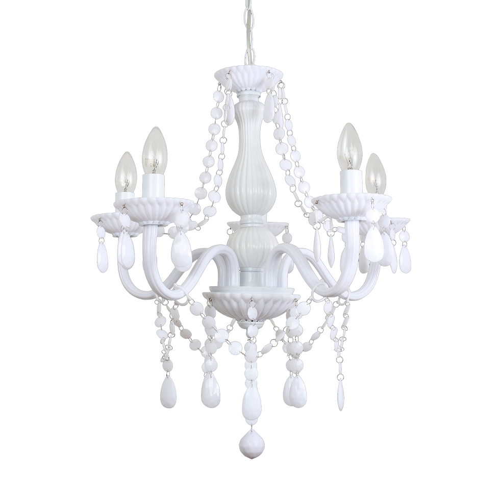 White Chandeliers Intended For Well Liked Chandelier : Wayfair Chandeliers Chandelier Light Bulbs Off White (View 16 of 20)