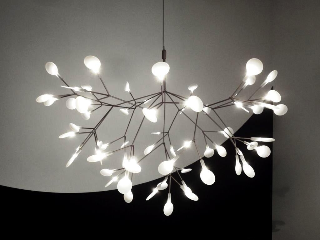 White Contemporary Chandelier Within Widely Used Chandelier (View 20 of 20)