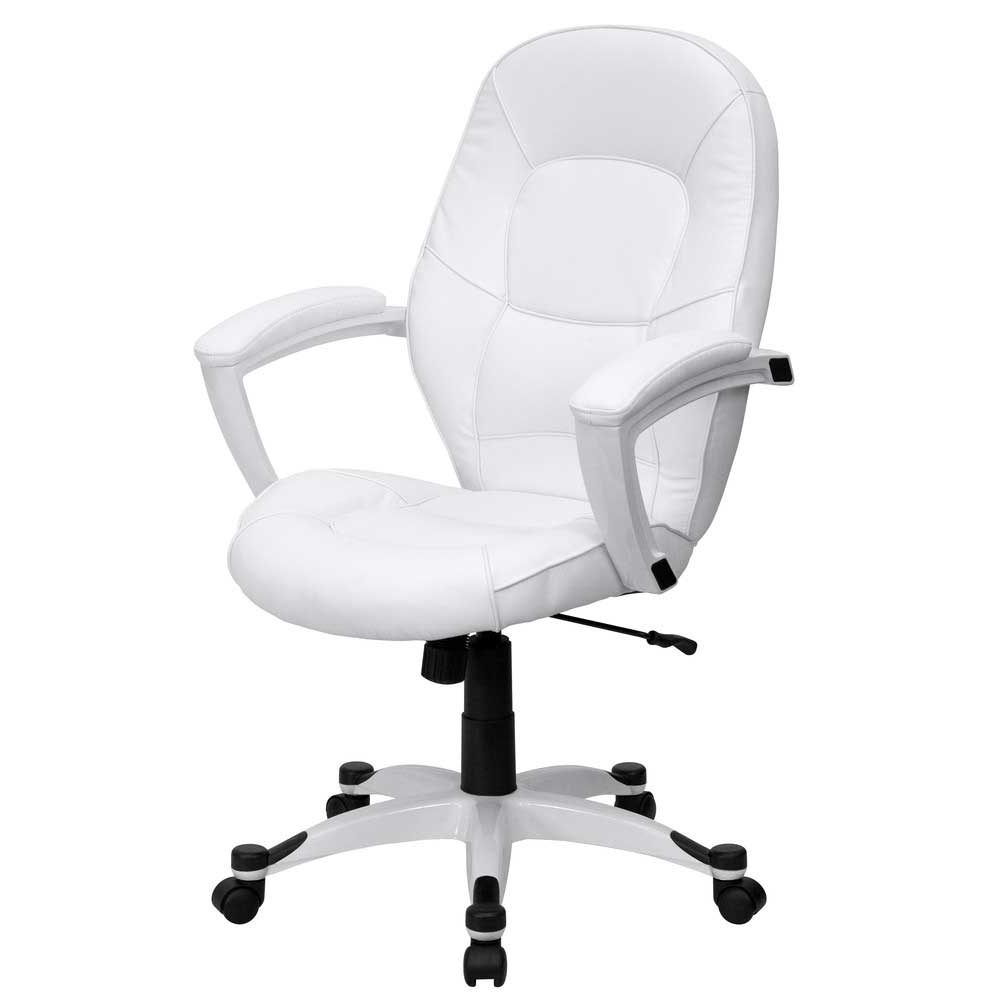 White Executive Office Chair Ergonomic Ultra Modern 360 : Best Throughout Fashionable Ergonomic Ultra Modern White Executive Office Chairs (View 17 of 20)