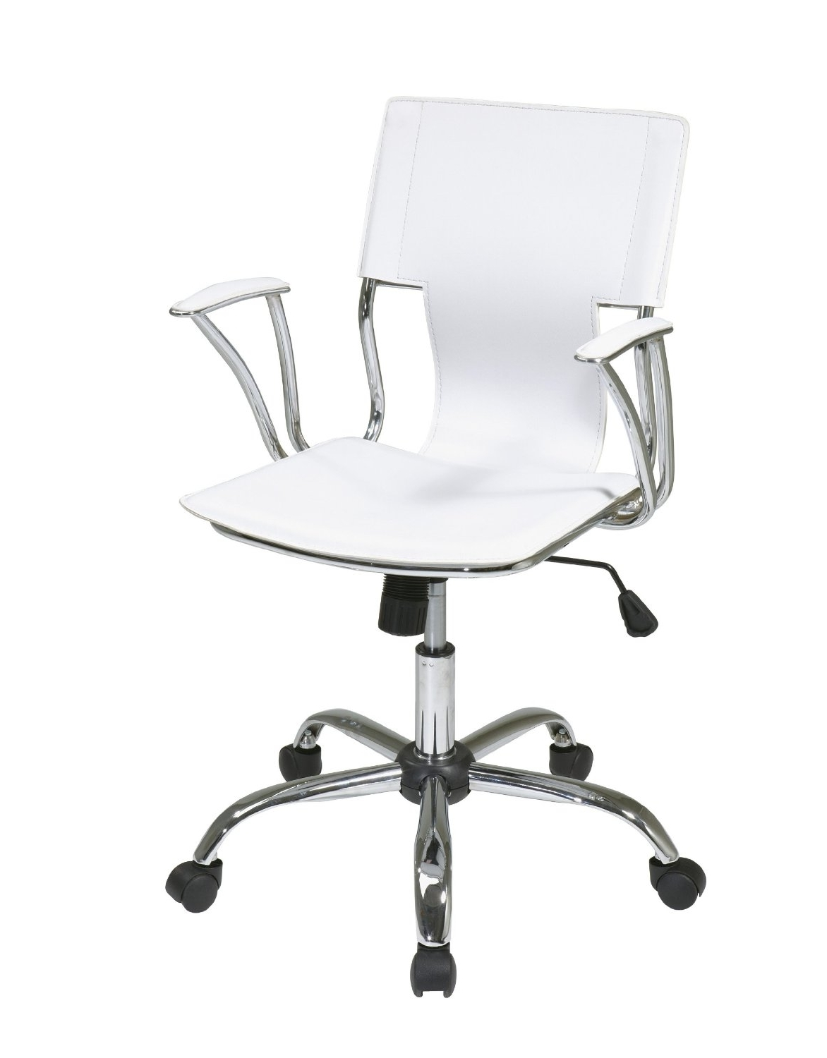White Executive Office Chair Ergonomic Ultra Modern 360 : Best Throughout Favorite Ergonomic Ultra Modern White Executive Office Chairs (View 18 of 20)
