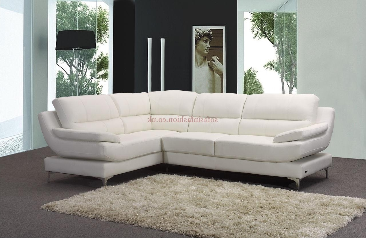 White Leather Corner Sofas Inside Recent New Ideas Leather Corner Sofas With Corner Sofa Leather Brown (View 16 of 20)