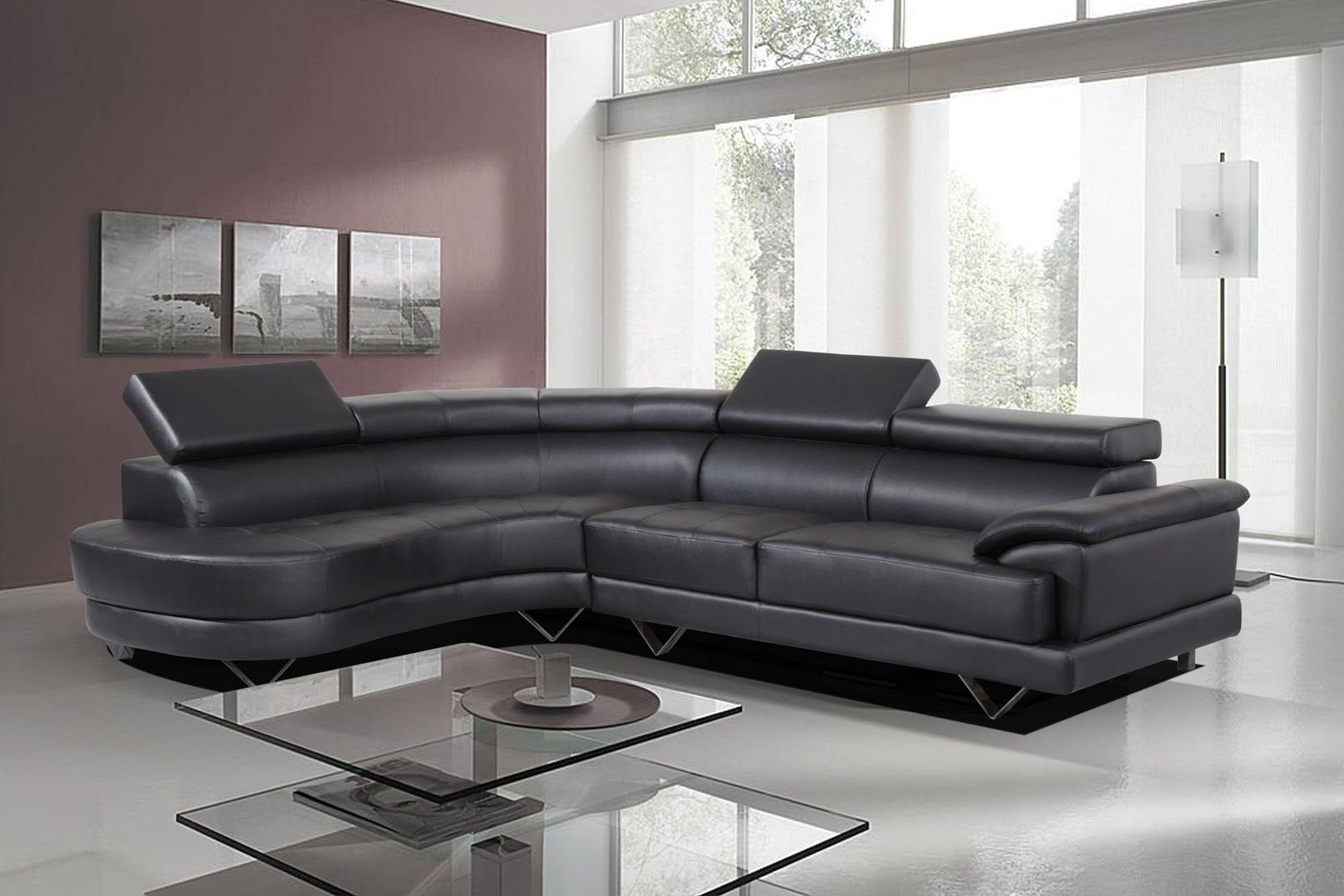 White Leather Corner Sofas Regarding Recent Furniture: Stunning Leather Corner Sofas Left Hand Corner Sofa (View 4 of 20)