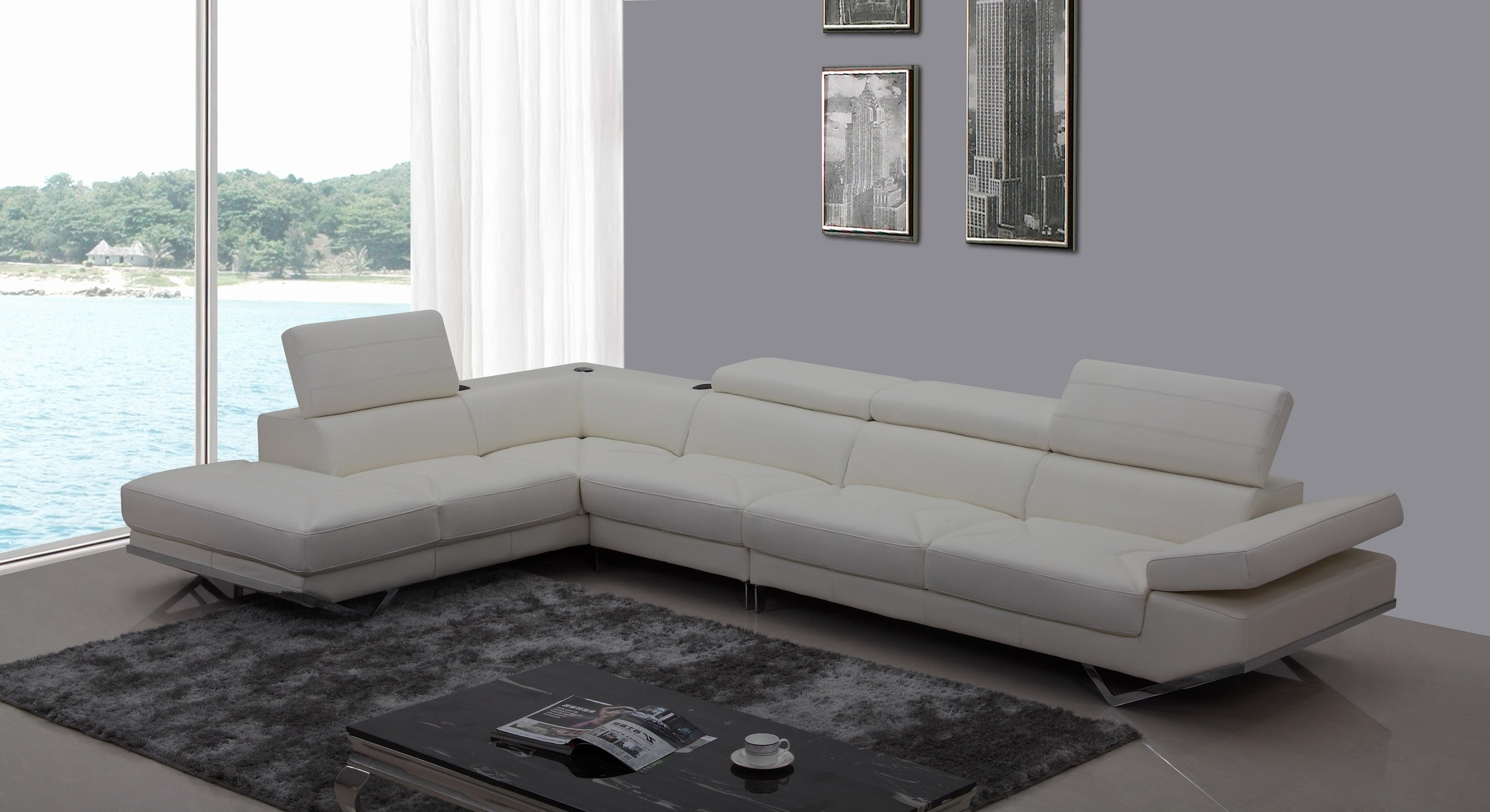 White Leather Couch Gumtree Sydney Sofas Ebay Corner Sofa For Throughout Well Known Sectional