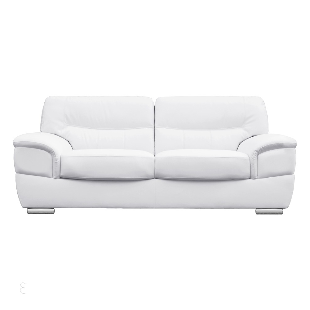 2020 Best Of White Leather Sofas