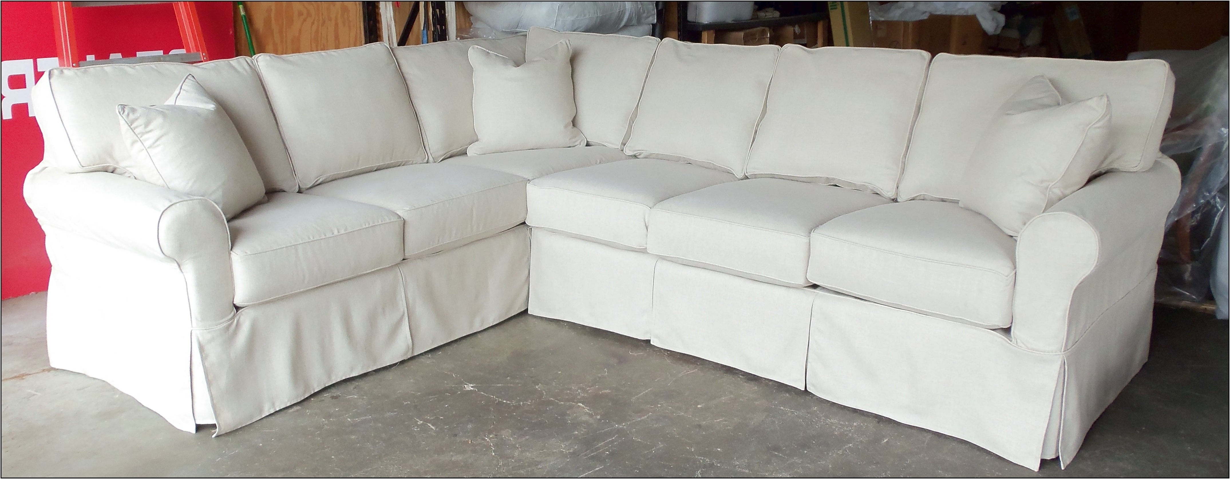 White Sectional Sofas Throughout Most Recent Awesome Cheap White Sectional Sofa 21 On Lazyboy Sectional Sofas (View 13 of 20)