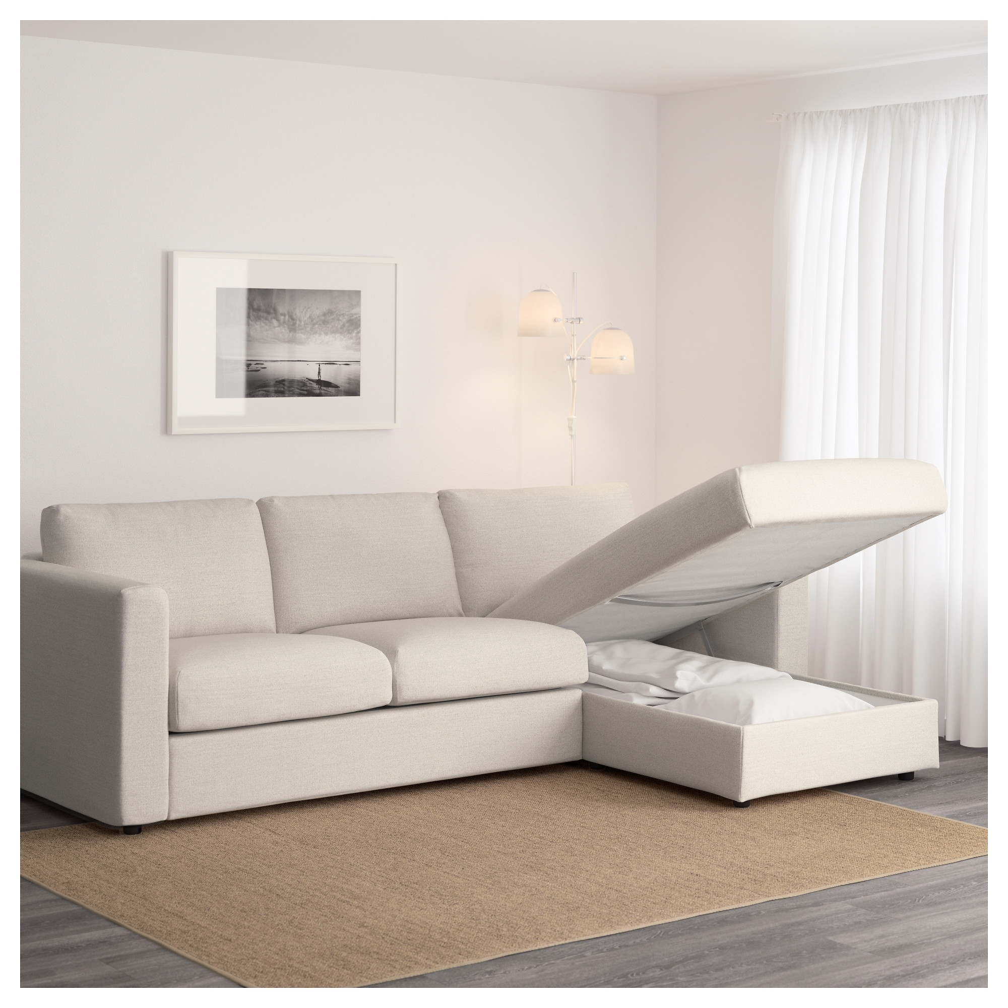 White Slipcovered Sectional Sofa White Slipcovered Sofa Reviews For Fashionable Sofas With Washable Covers (View 20 of 20)