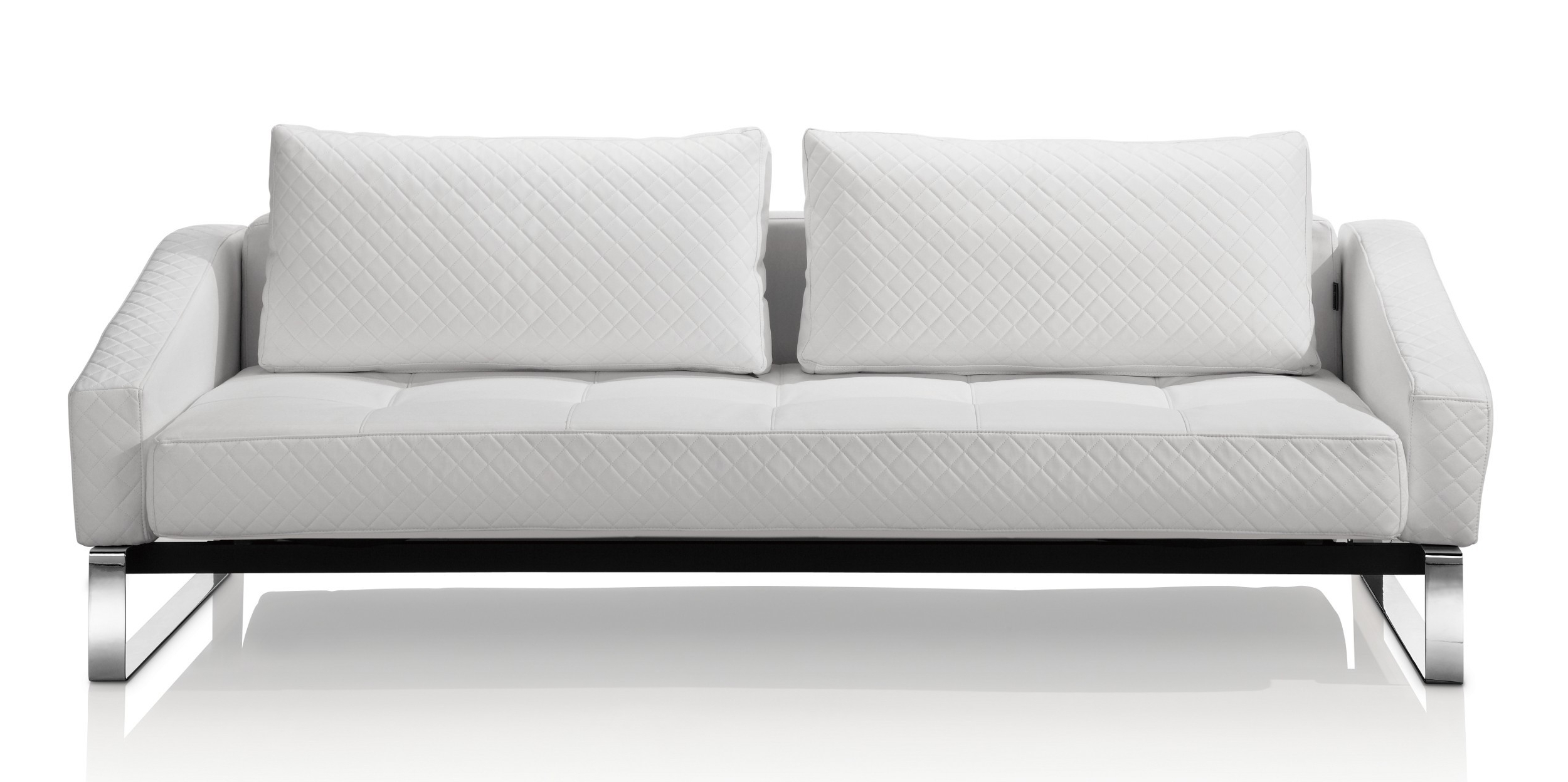 White Sofa Chairs Intended For Most Recent Leather Sofa Modern Sleeper Wonderful Cado Furniture Watson (View 18 of 20)