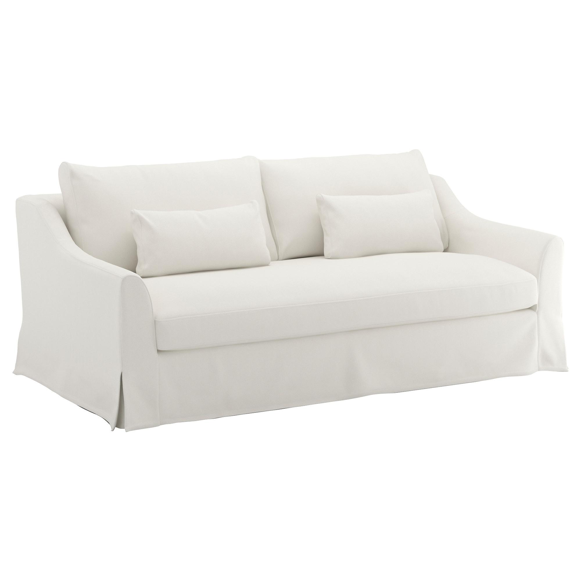 20 Ideas Of White Sofa Chairs