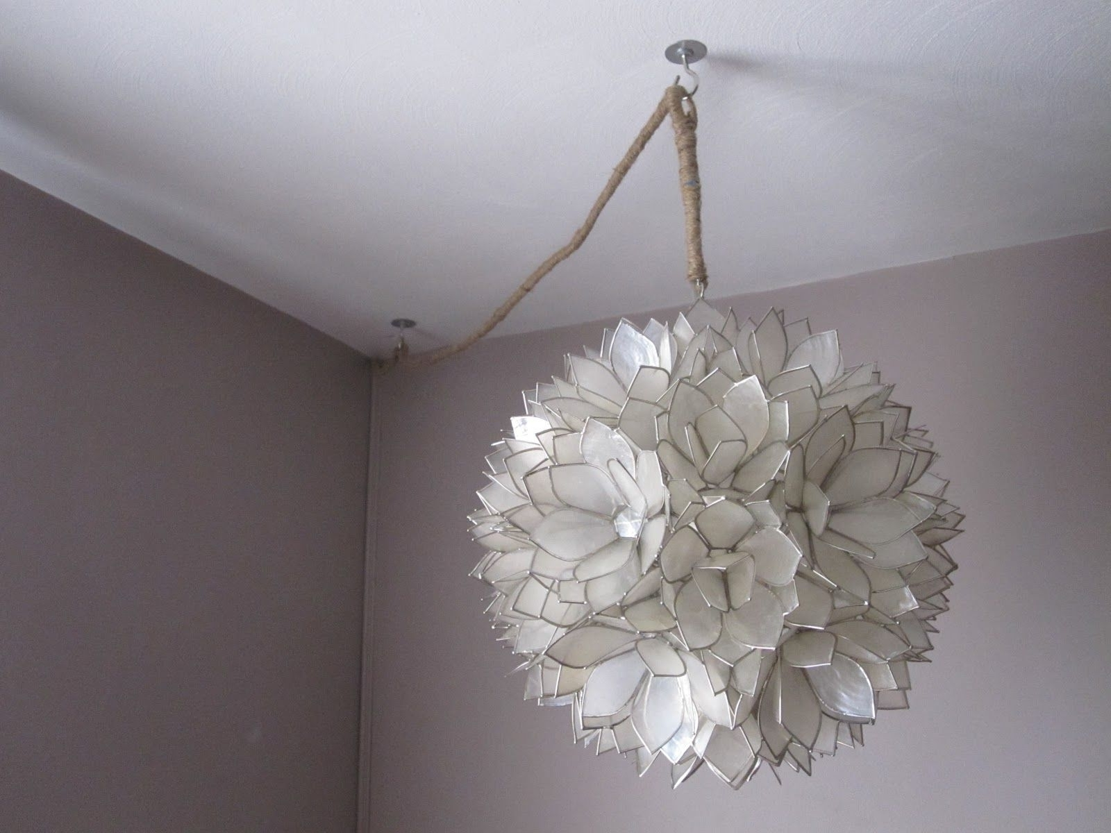 Widely Used Beautifully Contained: How To Hang And Hide The Cords Of A Pendant Regarding Wall Mounted Chandelier Lighting (View 19 of 20)
