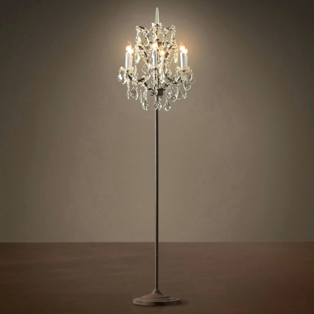 Widely Used Chandeliers ~ Standing Chandelier Floor Lamp Standing Chandelier With Standing Chandeliers (View 20 of 20)