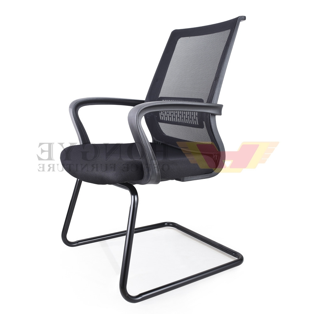 Widely Used China Modern Meeting Room Mesh Office Chairs Without Wheels With Regard To Executive Office Chairs Without Wheels (View 4 of 20)